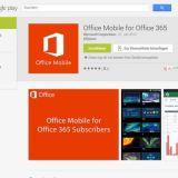 Android-Version von Microsoft Office im Play Store gelandet