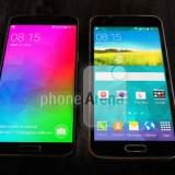 Samsung Premium-Smartphone Galaxy F zeigt sich neben dem Galaxy S5 (Fotos)