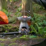 BaseCamp Stove: Camping-Griller, der das Smartphone auflädt, erfolgreich via Kickstarter finanziert