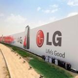 LG landet mit 3.000 Quadratmeter großer Werbefläche im Guinness Buch der Rekorde
