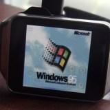 Windows 95 läuft auf einer Galaxy Gear (Video)