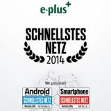 Android Magazin überreicht den Award für das schnellste Netz in Deutschland an E-Plus