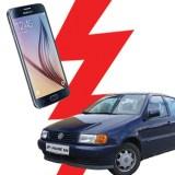 Android vs. Auto: Samsung Galaxy S6 im Battle mit dem Volkswagen Polo 6N