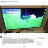 Fußball-Fan zerstört seinen Fernseher und will Schadensersatz vom österreichischen Nationalteam – Samsung springt ein