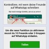 Virus gibt sich als WhatsApp-Update aus – und killt dein Handy
