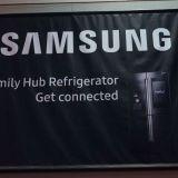 Samsung klatscht riesigen Touchscreen an seinen smarten Kühlschrank