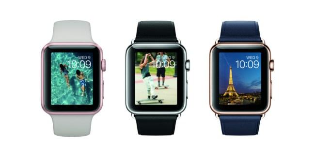 Die Apple Watch kostet ab sofort 50 Euro weniger als bislang. Du bist jetzt schon ab 349 Euro dabei. (Foto: Apple)