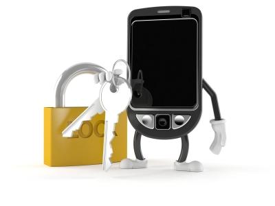 schloß schlüsselbund handy smartphone sperren sicherheit iStock_000012972695XSmall[Talaj]