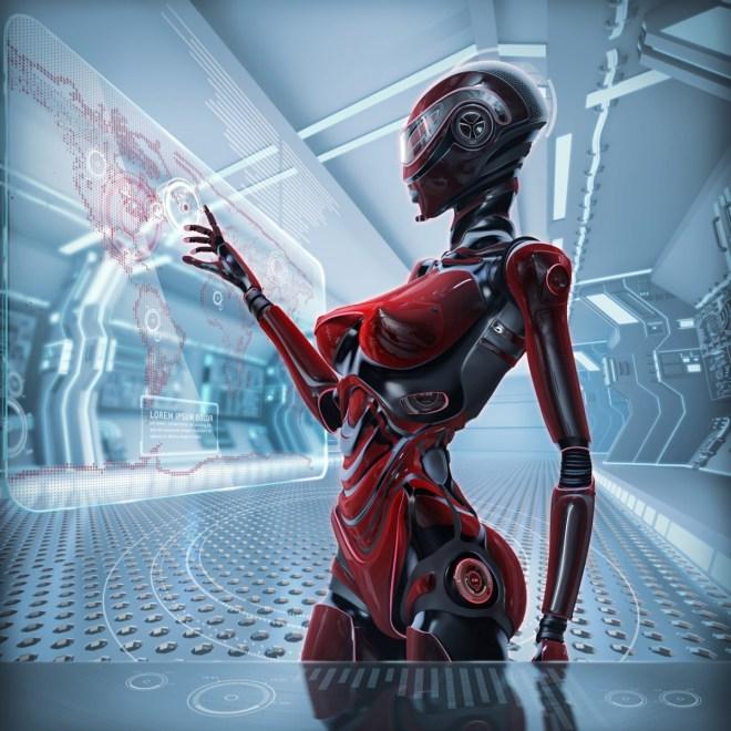 So schön werden die Roboter in Zukunft wohl nicht sein, aber wenigsten effizient (Foto: Shutterstock/Willyam Bradberry)