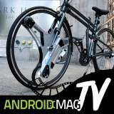 """Video: Einfach das """"GeoOrbtial wheel"""" in dein Fahrrad vorne einspannen – schon ist es ein e-Bike"""