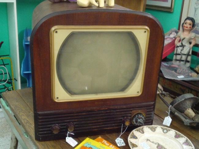 Bei diesem Fernsehgerät hat Erpressungs-Malware garantiert keine Chance. (Foto: Cherie Durbin)