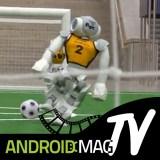 Video: Hier spielen die Roboter Fußball!