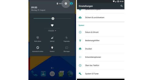 Drei geheime Funktionen von Android 7 02