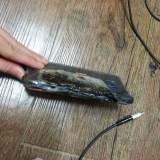 Spektakuläre Bilder: Galaxy Note 7 beim Laden explodiert