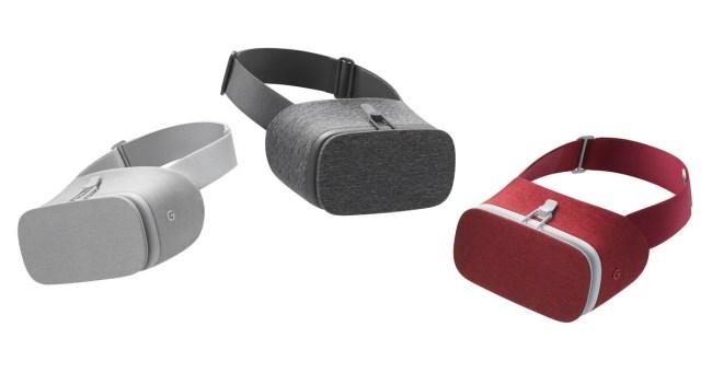 Daydream View gibt es in drei verschiedenen Farben (Bild: Google)