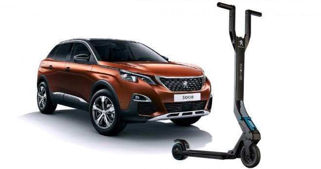 Vielseitig Peugeot macht neben Autos nicht nur Rennräder und Pfeffermühlen, sondern auch Tretroller. Der e-Kick entstand in  Kooperation mit micro.
