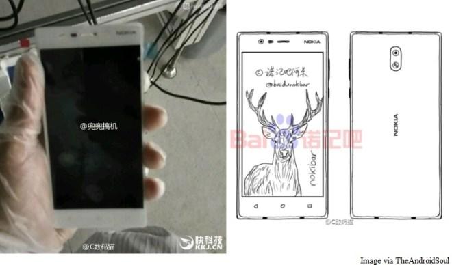 Die durchgesickerten Bilder zeigen das vermeintliche Nokia E1. (Foto: TheAndroiSoul)