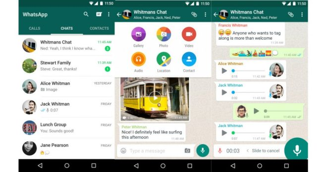 (Bildschirmfotos: WhatsApp Inc.)