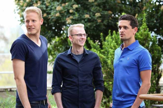 Die drei Gründer aus Berlin (Foto: Poqit)