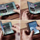 Samsung: Smartphone mit zusammenklappbarem Bildschirm auf der IFA?