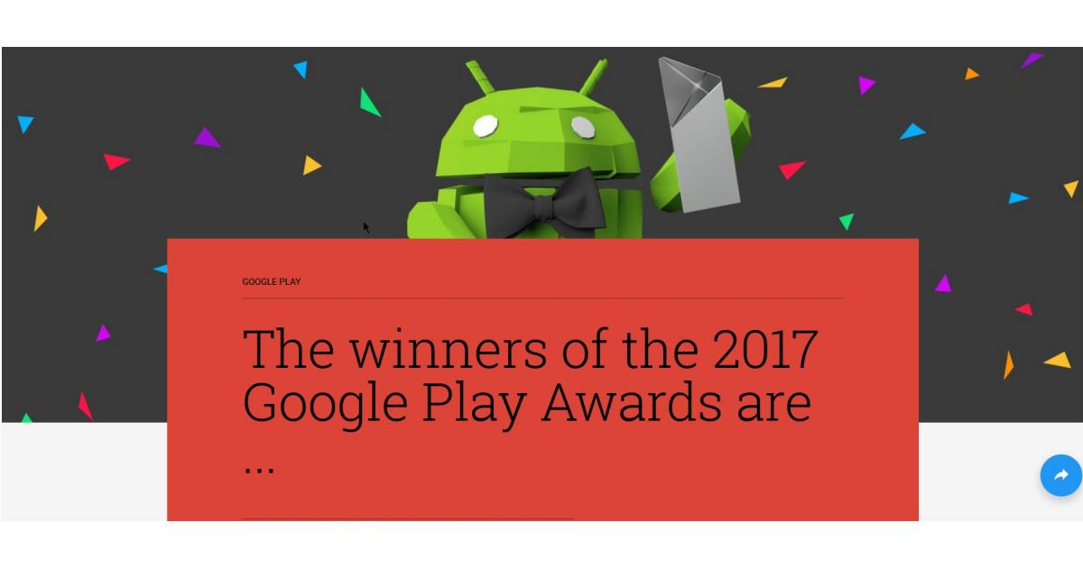 google play awards dies sind die besten apps 2017. Black Bedroom Furniture Sets. Home Design Ideas