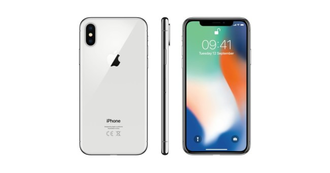 iPhone X: das Flaggschiff-Modell unter den Apple-Smartphones. Die schmalen Ränder sorgen für einen großen Bildschirm bei relativ geringen Gehäusemaßen. (Foto: Hartlauer)