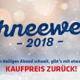 Hartlauer Schneewette 2018: Mit etwas Glück den vollen Kaufpreis zurück!