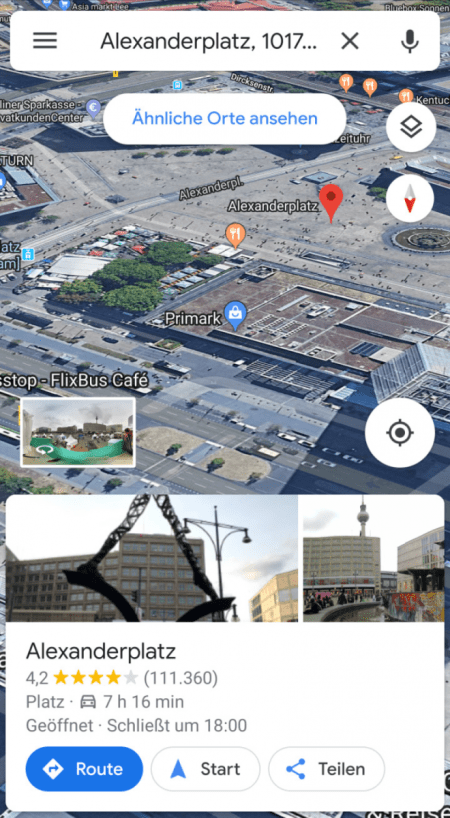 Google Maps_Gebäude ansehen_3