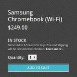Google bringt 2013 ein eigenes Chromebook mit Touch-Display