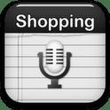 Einkaufsliste – Spracheingabe