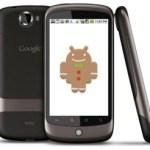 Nexus bekommt Update auf Gingerbread
