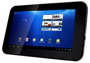 Das HANNSpad läuft mit Android 4.0 alias Ice Cream Sandwich. Foto: tabletcommunity.com.