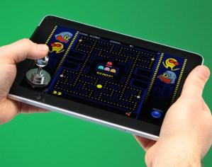 Eine eigene Version des Arcade Sticks gibt's für kapazitive Displays