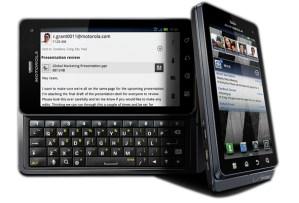 Motorola Droid3. Foto:Motorola.