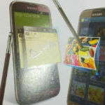 Galaxy Note 2 in Rot und Braun gesichtet