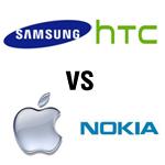 Duell der Giganten: Galaxy S3, HTC One X, iPhone 4S und Nokia Lumia 900 im Vergleich