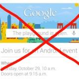 Google musste Android Event wegen Sandy absagen