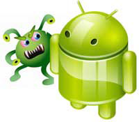 Android in Gefahr
