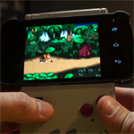 Galaxy Nexus Fanmod: Controller aus Gameboy und Wiimote