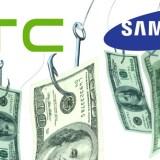 HTC und Samsung kämpfen mit starkem Absatzrückgang