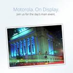 Live-Stream vom Motorola-Event