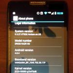 Motorola Razr HD geleaked