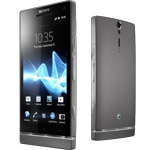 Sony Xperia S kommt nun auch in dunkelsilber