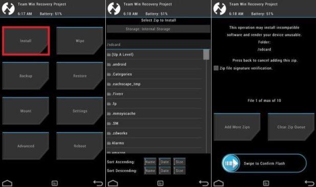 TWRP Recovery ile CyanogenMod 13 Yükleme İşlemi (Resimli) 2