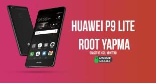 Huawei P9 Lite Root Yapma (Basit ve Hızlı Yöntem)