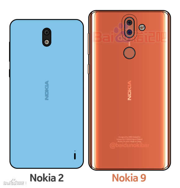 Nokia 9 Monikers Reveal Dual Zeiss Camera & Bezel-free Screen