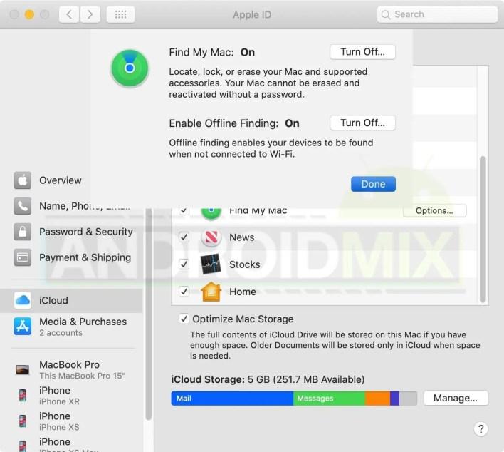 تتبع جهاز iPhone أو iPad أو Mac المفقود بدون انترنت