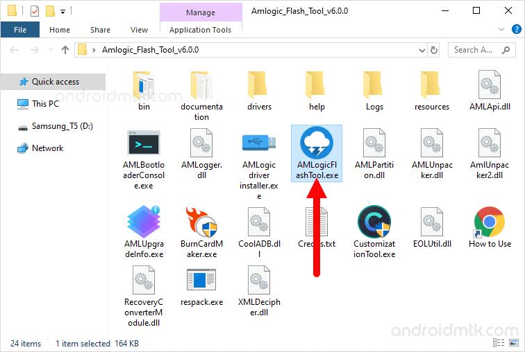 Amlogic Flash Tool Open