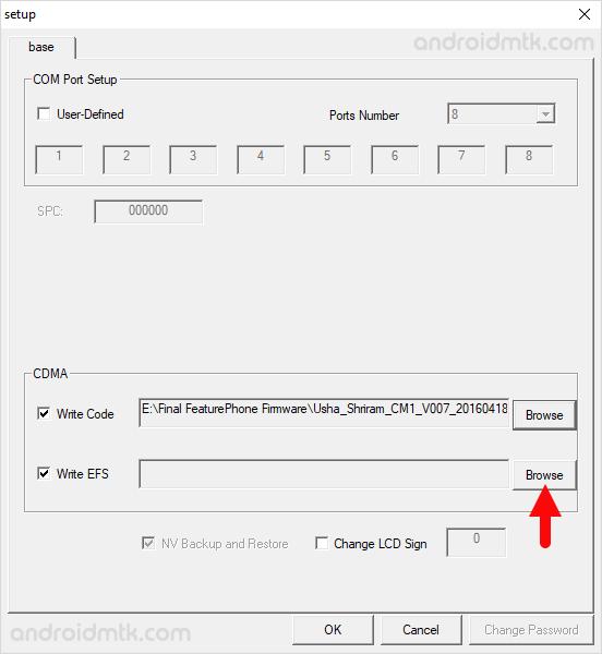 CDMA Software Download Tool Write EFS