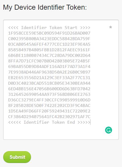 Htc Identifier Token